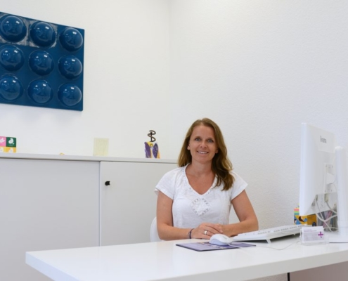 Praxis Hinz im Behandlungszimmer